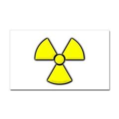 Radioactivity Rectangle Decal
