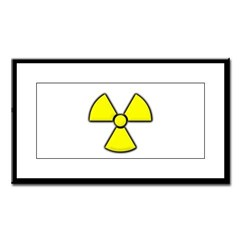 Radioactivity Small Framed Print