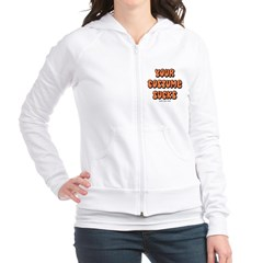 Your Costume Sucks Junior Zip Hoodie