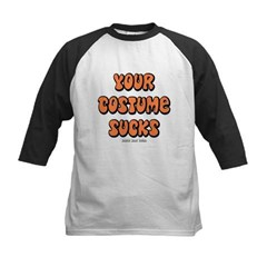 Your Costume Sucks Kids Baseball Jersey T-Shirt