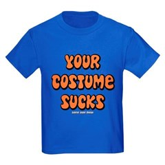 Your Costume Sucks Youth Dark T-Shirt by Hanes