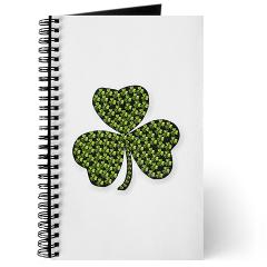 Shamrock Outline Journal