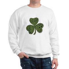 Shamrock Outline Sweatshirt