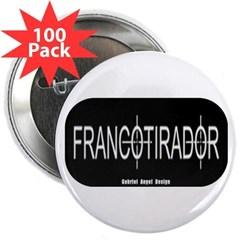 "Francotirador 2.25"" Button (100 pack)"