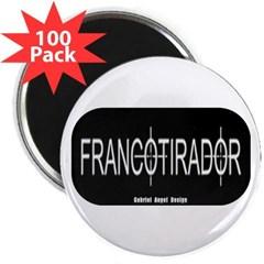 """Francotirador 2.25"""" Magnet (100 pack)"""