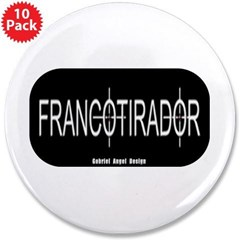 "Francotirador 3.5"" Button (10 pack)"