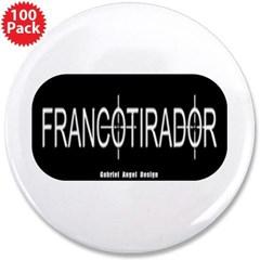 "Francotirador 3.5"" Button (100 pack)"