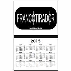Francotirador Calendar Print