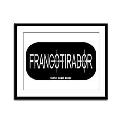 Francotirador Framed Panel Print