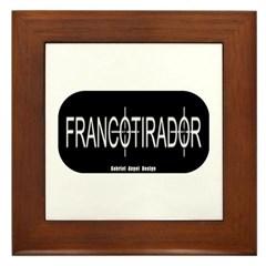 Francotirador Framed Tile