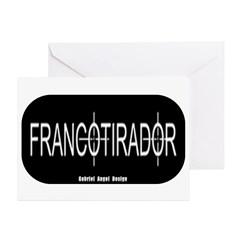 Francotirador Greeting Card