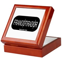 Francotirador Keepsake Box