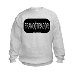 Francotirador Kids Crewneck Sweatshirt by Hanes