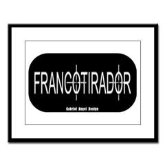 Francotirador Large Framed Print