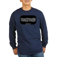 Francotirador Long Sleeve Dark T-Shirt