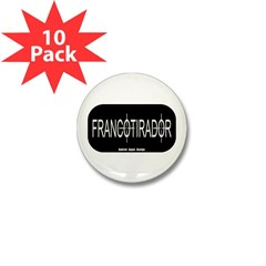 Francotirador Mini Button (10 pack)