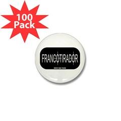Francotirador Mini Button (100 pack)