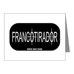 Francotirador Note Cards (Pk of 20)