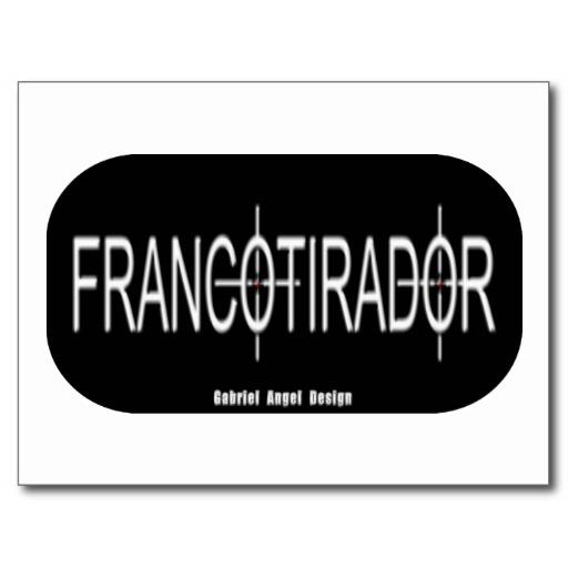 Francotirador Postcard