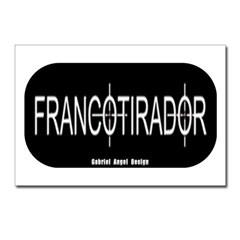 Francotirador Postcards (Package of 8)