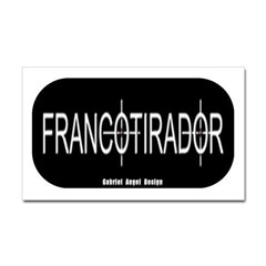 Francotirador Rectangle Decal