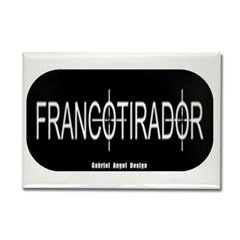 Francotirador Rectangle Magnet