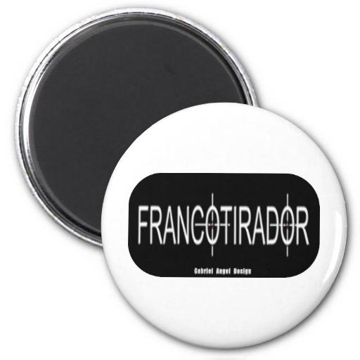 Francotirador Refrigerator Magnet