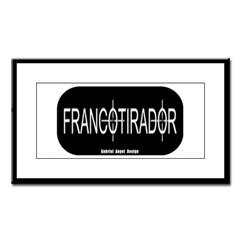 Francotirador Small Framed Print