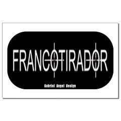 Francotirador Small Posters