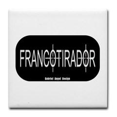 Francotirador Tile Coaster
