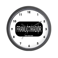 Francotirador Wall Clock