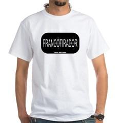 Francotirador White T-Shirt