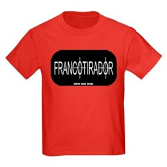 Francotirador Youth Dark T-Shirt by Hanes