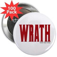 "Wrath Logo 2.25"" Button (100 pack)"