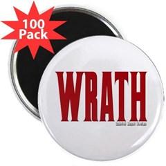"Wrath Logo 2.25"" Magnet (100 pack)"