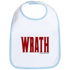 Wrath Logo Baby Bib