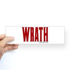 Wrath Logo Bumper Sticker