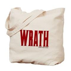 Wrath Logo Canvas Tote Bag