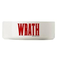 Wrath Logo Large Pet Bowl