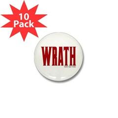 Wrath Logo Mini Button (10 pack)