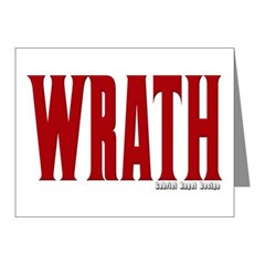 Wrath Logo Note Cards (Pk of 10)
