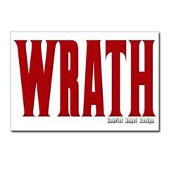 Wrath Logo Postcards (Package of 8)