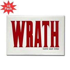 Wrath Logo Rectangle Magnet (10 pack)