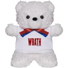 Wrath Logo Teddy Bear