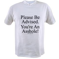 Please Be Advised Value T-shirt