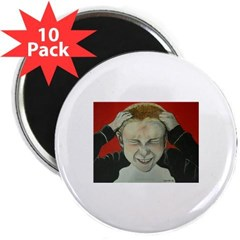 """Irate Gamer 2.25"""" Magnet (10 pack)"""