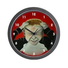 Irate Gamer Wall Clock