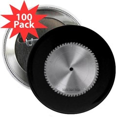 "Saw Blade 2.25"" Button (100 pack)"
