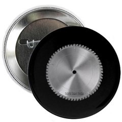 "Saw Blade 2.25"" Button"
