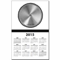 Saw Blade Calendar Print